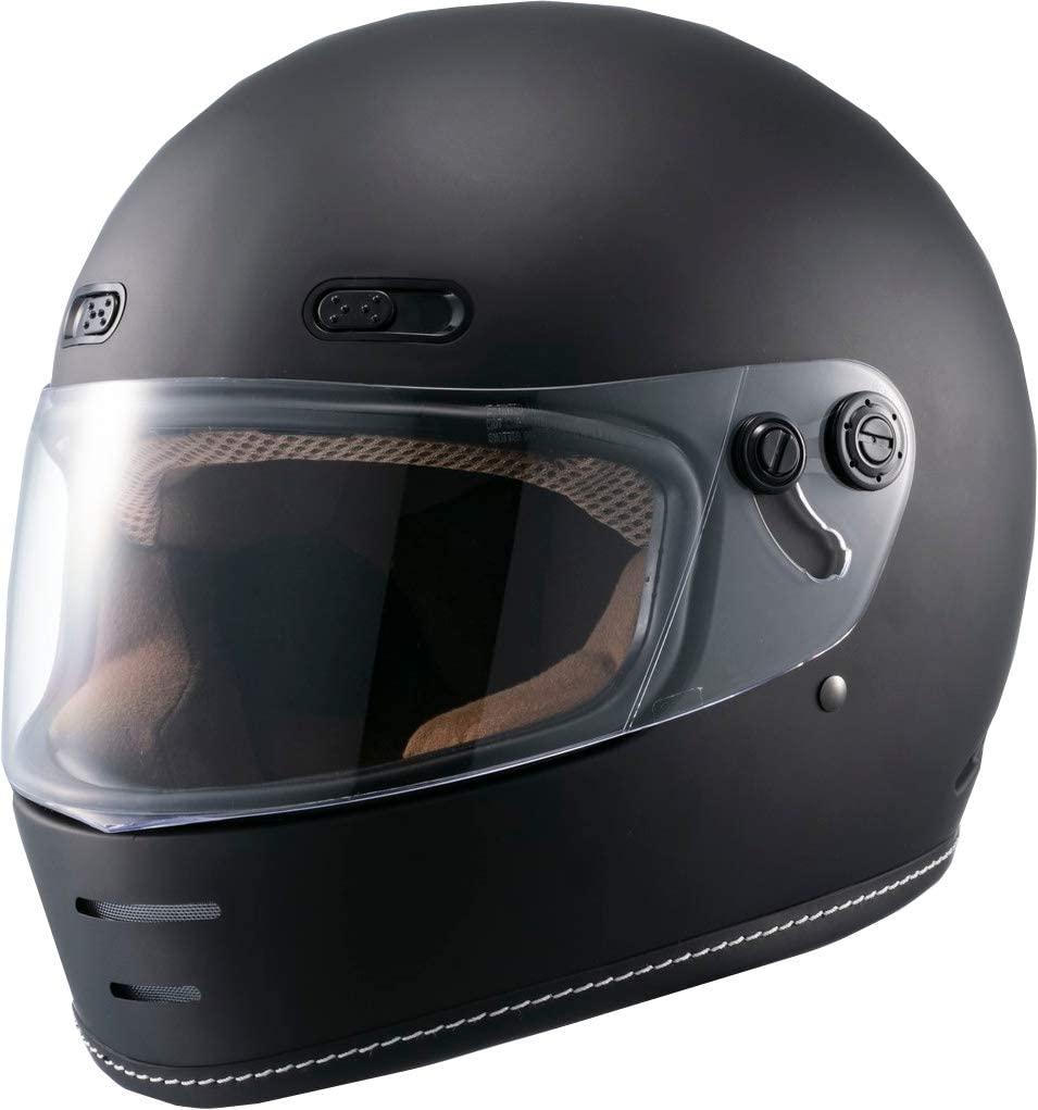 一部予約 MARUSHIN ネオレトロ MNF1 エンドミル フルフェイスヘルメット マットブラック 送料無料 MILL RETRO END 新品 NEO