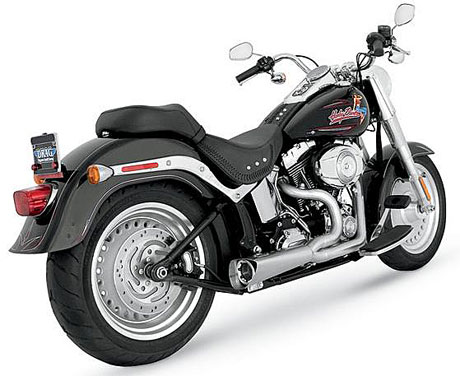 00-11 SOFTAIL対応VANCE&HINES(バンス&ハインズ)COMPETITION 2 IN 1 STAINLESS