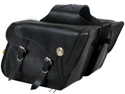 サドルバッグWILLIE&MAX(ウイリー&マックス)DELUXE FLEETSIDE SLANT SADDLEBAG