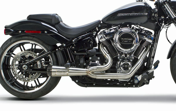 2019 FXDR用TWO BROTHERS RACING(ツーブラザーズレーシング)COMP-S 2 IN 1システム ステンレス