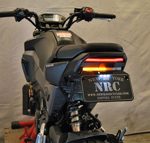 13-15 GROM用NEW RAGE CYCLES(ニューレイジサイクルズ)フェンダーレスキット