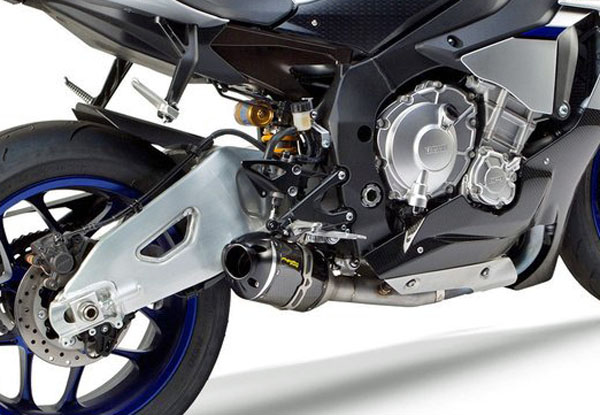 15-20 YZF-R1用TWO BROTHERS RACING(ツーブラザーズレーシング)S1Rスリップオン カーボンブラックシリーズ