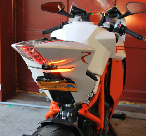 08-16 KTM RC8/R用NEW RAGE CYCLES(ニューレイジサイクルズ)フェンダーレスキット