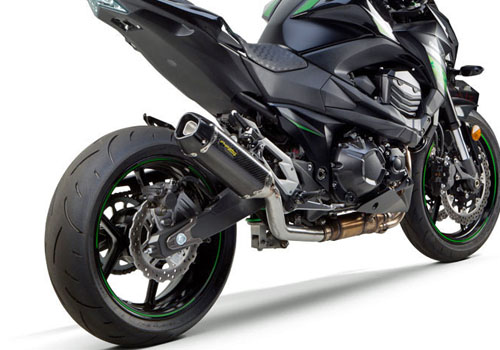 09-20 Z800用TWO BROTHERS RACING(ツーブラザーズレーシング)TARMACスリップオン カーボン