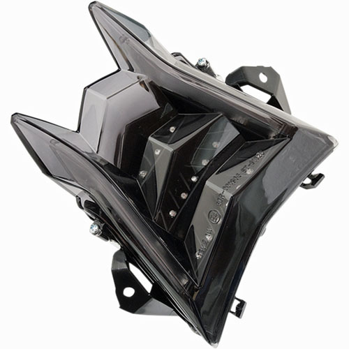 10-16 S1000RR用MOTO MPH(モトエムピーエイチ) INTEGRATEDテールライトBLACKOUT