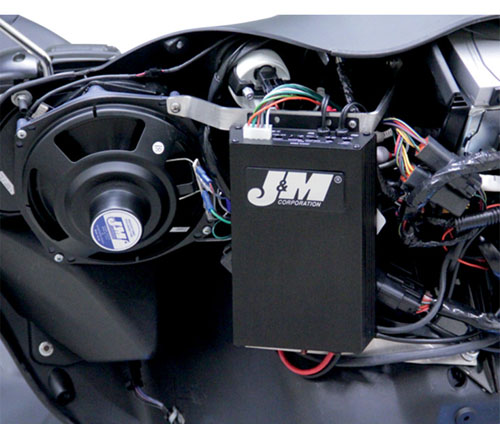 FLTRU用J&M 360W フェアリング/リア 4スピーカー&アンプキット