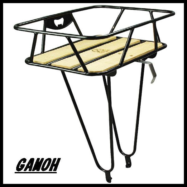 ガモー キングキャリア 木製天板付きフロントキャリア GAMOH 02P03Dec16
