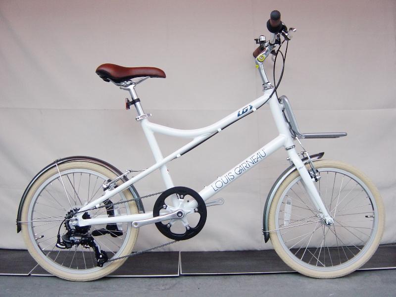 【店頭受取のみ】ルイガノ イーゼル 7.0 (LGホワイト) 2020 LOUIS GARNEAU EASEL 7.0 ミニベロ 20インチ 小径自転車