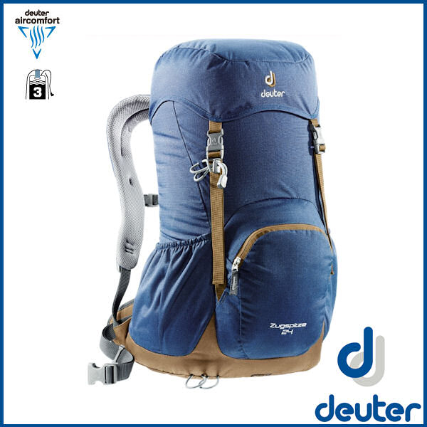 ドイター ツークスピッツェ 24 (ミッドナイト/ライオン) deuter Zugspitze 24 バックパック リュック D3430116-3608 02P03Dec16