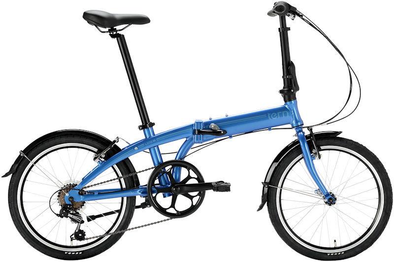 折りたたみ自転車 ターン リンク A7 (ブルー/ブルー) 2019 TERN LINK A7 フォールディングバイク