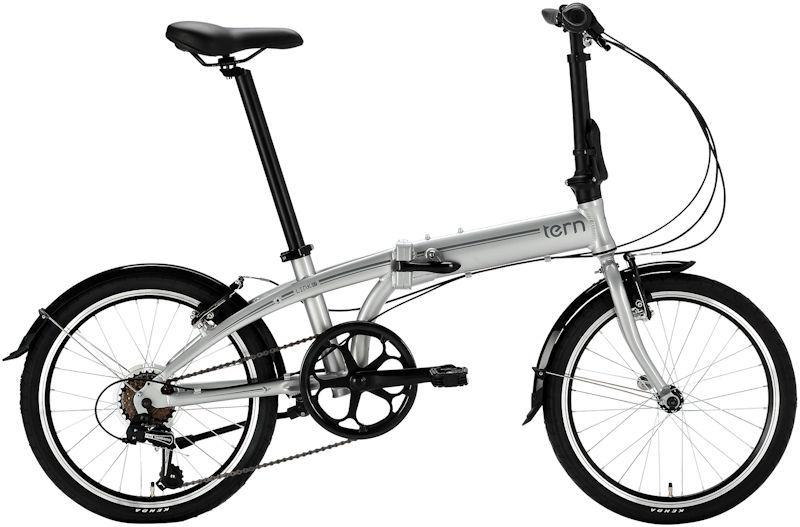 折りたたみ自転車 ターン リンク A7 (シルバー/グレー) 2019 TERN LINK A7 フォールディングバイク