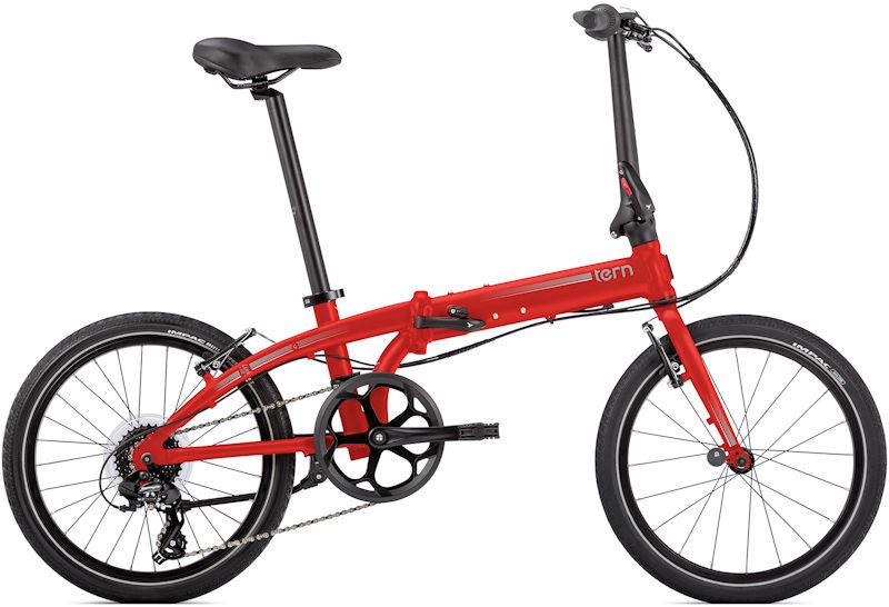 折りたたみ自転車 ターン リンク C8 モダンライン (マットレッド/シルバー) 2019 TERN LINK C8 Modern Line フォールディングバイク