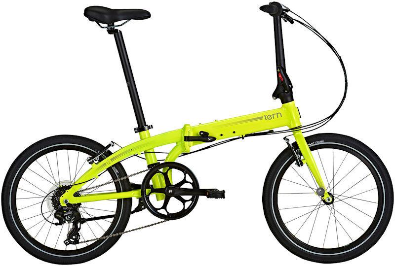 折りたたみ自転車 ターン リンク C8 モダンライン (セフティイエロー/シルバー) 2019 TERN LINK C8 Modern Line フォールディングバイク