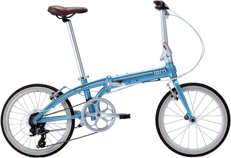 折りたたみ自転車 ターン リンク C8 クラシックライン (ライトブルー/ホワイト) 2019 TERN LINK C8 Classic Line フォールディングバイク
