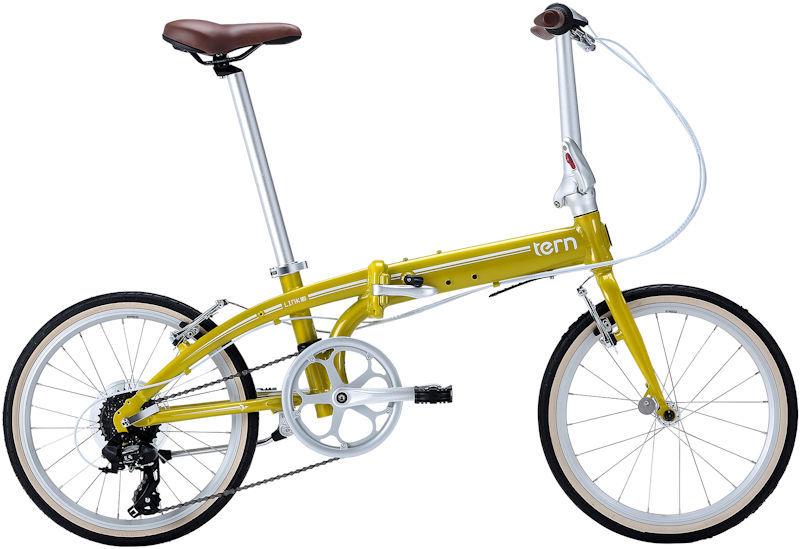 折りたたみ自転車 ターン リンク C8 クラシックライン (カメレオンイエロー/ホワイト) 2019 TERN LINK C8 Classic Line フォールディングバイク