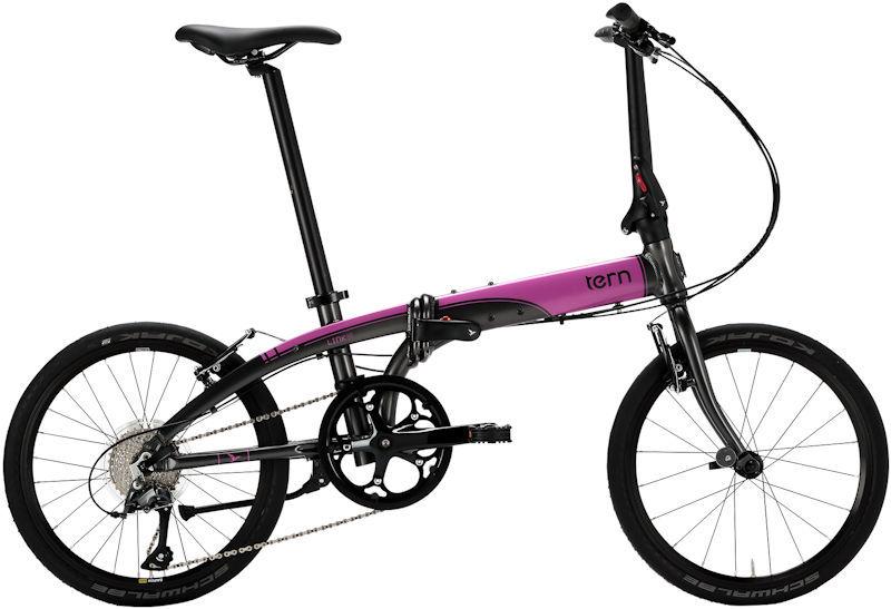 折りたたみ自転車 ターン リンク N8 (マットガンメタル/ピンク) 2019 TERN LINK N8 フォールディングバイク