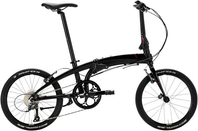 折りたたみ自転車 ターン ヴァージュ N8 (マットブラック/ブラック) 2019 TERN VERGE N8 フォールディングバイク