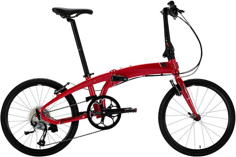 折りたたみ自転車 ターン ヴァージュ D9 (ダークレッド/グレー) 2019 TERN VERGE D9 フォールディングバイク