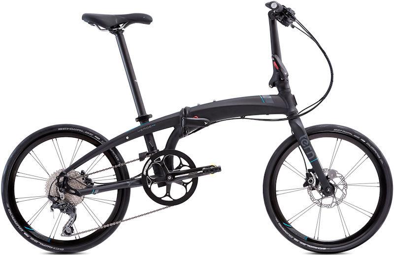 折りたたみ自転車 ターン ヴァージュ P10 (マットブラック/グレー) 2019 TERN VERGE P10 フォールディングバイク
