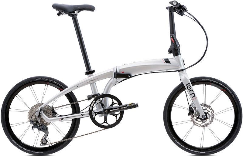 折りたたみ自転車 ターン ヴァージュ P10 (マットシルバー/ブラック) 2019 TERN VERGE P10 フォールディングバイク