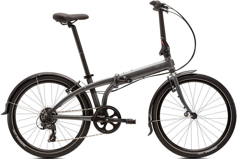 折りたたみ自転車 ターン ノード C8 (ガンメタル/グレー) 2019 TERN NODE C8 24インチ フォールディングバイク