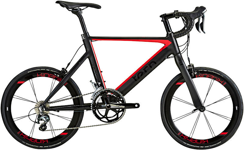 ミニベロ ターン サージュプロ (デルタレッド) 2019 TERN SURGE PRO 小径自転車