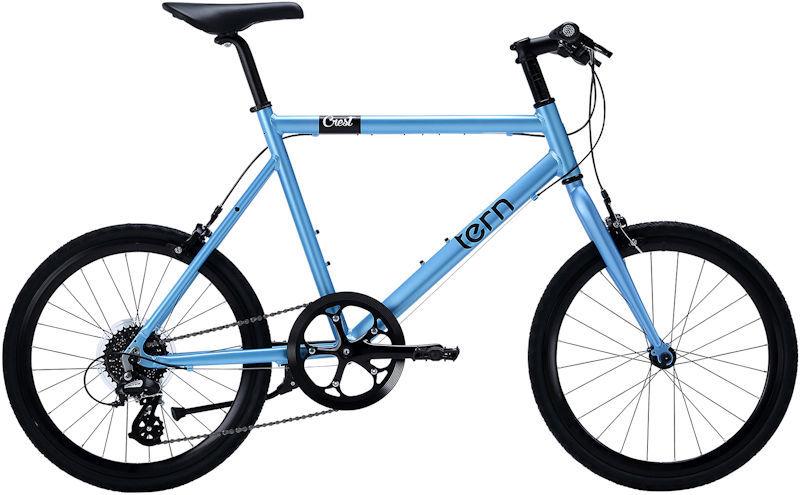 ミニベロ ターン クレスト (ライトブルー) 2019 TERN CREST 小径自転車