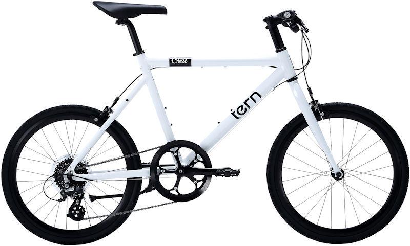 ミニベロ ターン クレスト (ホワイト) 2019 TERN CREST 小径自転車