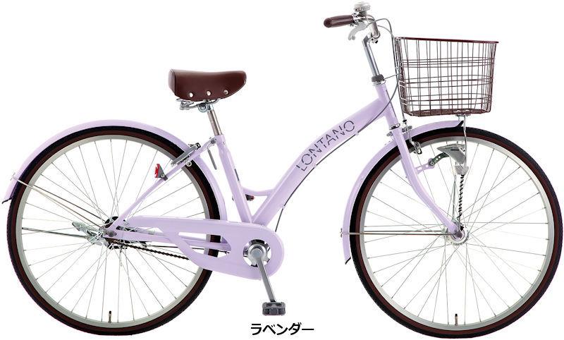 サカモトテクノ 26インチ ロンターノ オートライト (3color) SAKAMOTO TECHNO LONTANO S-tech シティサイクル
