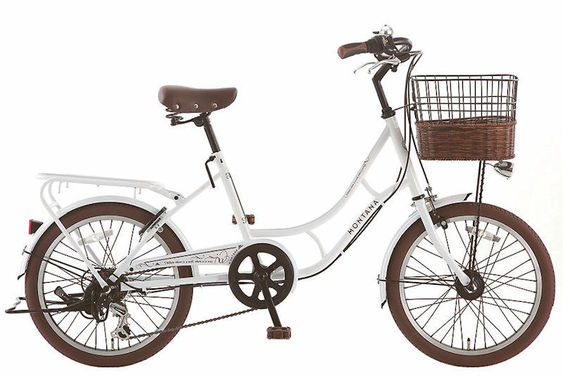 サカモトテクノ 20インチ モンタナカフェ 外装6段変速 オートライト (3color) SAKAMOTO TECHNO MONTANA CAFE BAA適合車 S-tech 小径自転車 シティサイクル ミニベロ
