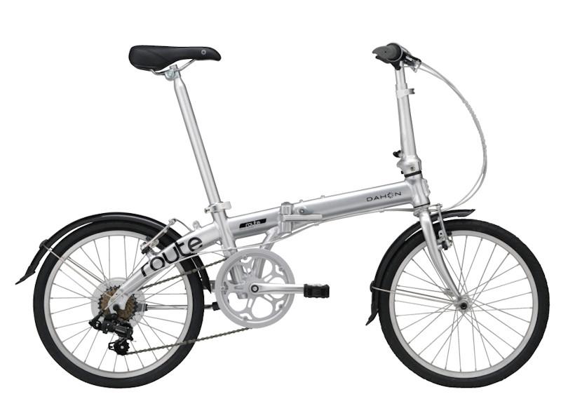 ダホン ルート (ピュアシルバー) 2020 DAHON Route 折りたたみ自転車 20インチ フォールディングバイク