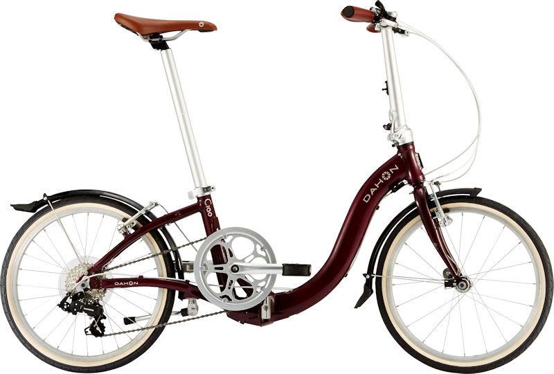 ダホン チャオ (マルーン) 2020 DAHON Ciao 折りたたみ自転車 20インチ フォールディングバイク