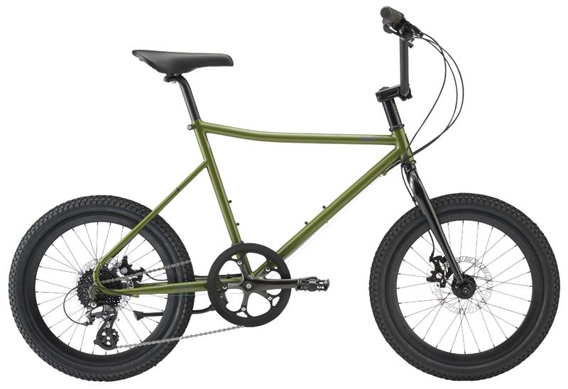ターン アンプ F1 (カーキ) 2020 TERN AMP F1 ミニベロ 20インチ 小径自転車
