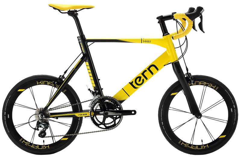 ターン サージュプロ (マットイエロー/ブラック) 2020 TERN SURGE PRO ミニベロ 20インチ 小径自転車