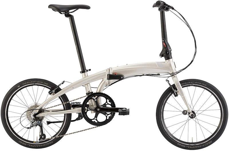 ターン ヴァージュ N8 (ペールゴールド/シルバー) 2020 TERN VERGE N8 20インチ 折りたたみ自転車 フォールディングバイク
