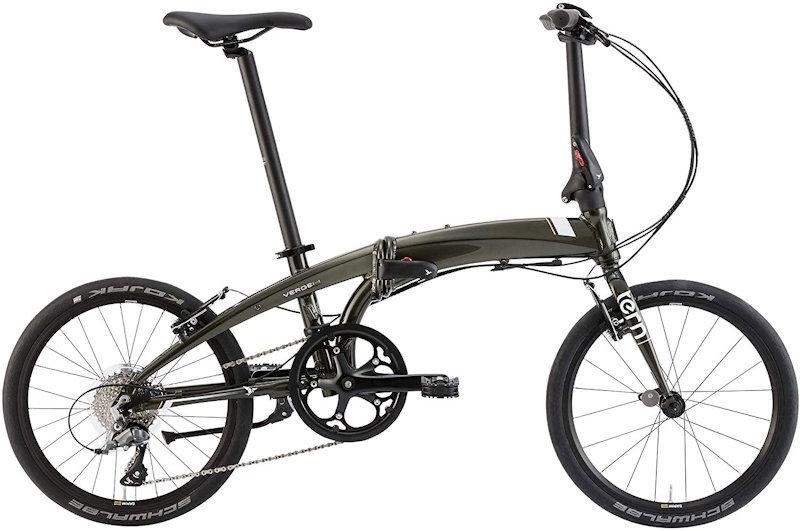 ターン ヴァージュ N8 (グリーン/ホワイト) 2020 TERN VERGE N8 20インチ 折りたたみ自転車 フォールディングバイク