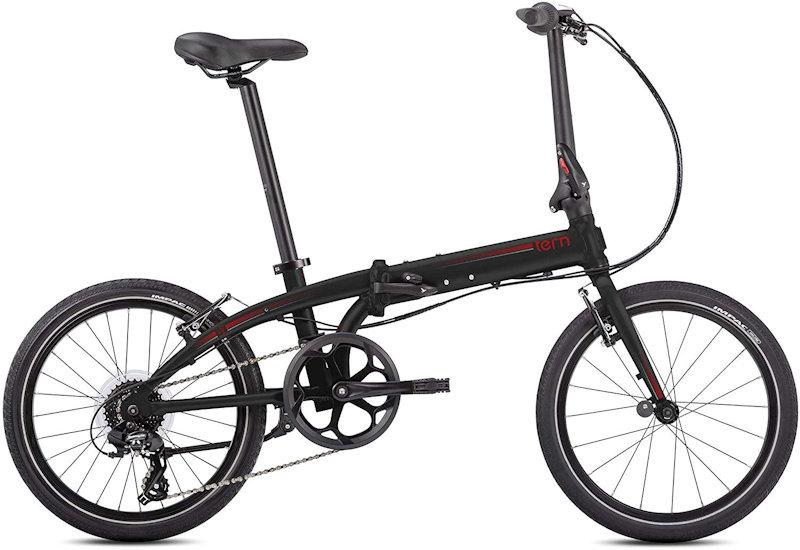 ターン リンク C8 モダンライン (マットブラック/レッド) 2020 TERN LINK C8 Modern Line 20インチ 折りたたみ自転車 フォールディングバイク