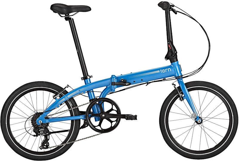 ターン リンク C8 モダンライン (マットブルー/シルバー) 2020 TERN LINK C8 Modern Line 20インチ 折りたたみ自転車 フォールディングバイク