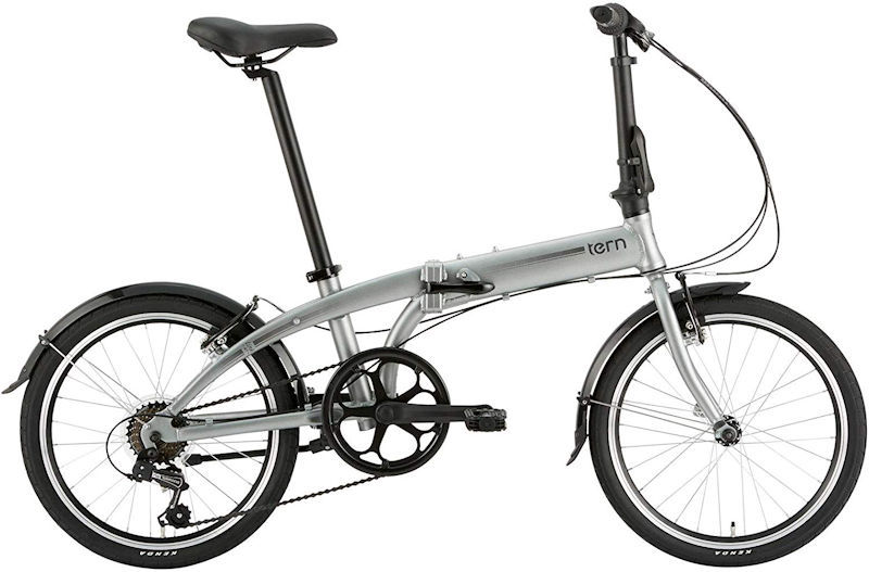 ターン リンク A7 (マットシルバー/グレー) 2020 TERN LINK A7 20インチ 折りたたみ自転車 フォールディングバイク