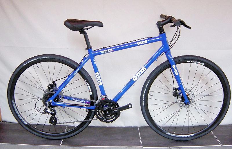 ジオス ミストラル ディスク メカニカル (ジオスブルー) 2020 GIOS MISTRAL DISC MECHANICAL クロスバイク
