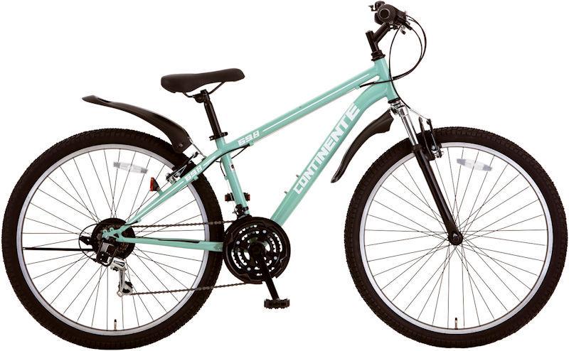 外装18段 コンティネント 2021 MTB 27.5 CONTINENTE (サワーグリーン) 塩野自転車 マウンテンバイク SHIONO 2718 シオノ