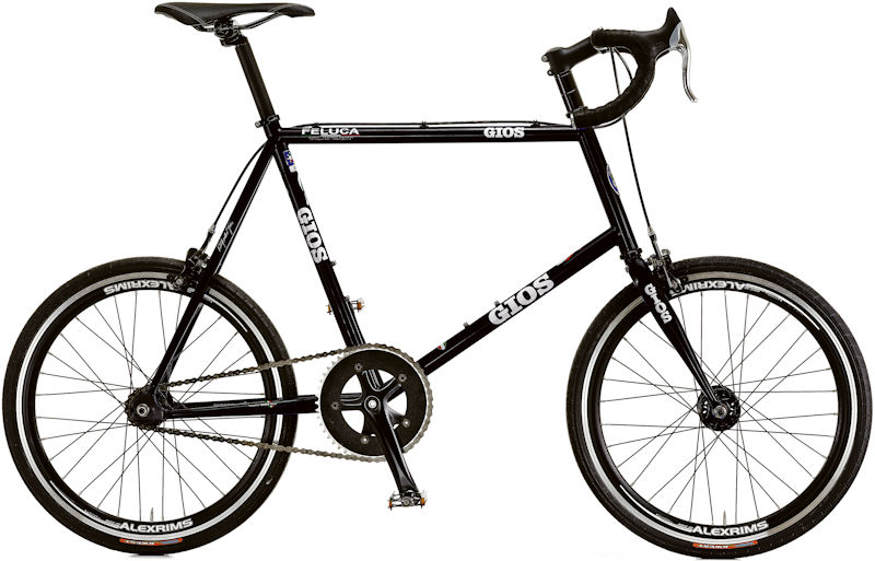 ジオス フェルーカ ピスタ (ブラック) 2020 GIOS FELUCA PISTA ミニベロ 小径自転車 ピストバイク