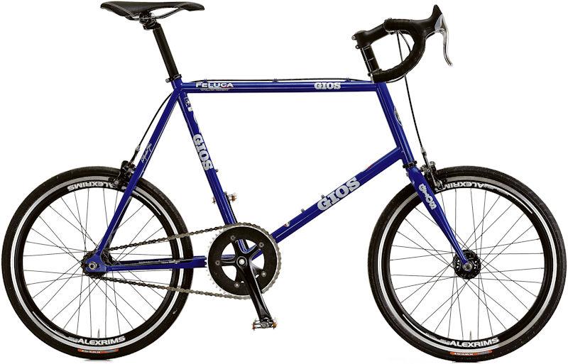 ジオス フェルーカ ピスタ (ジオスブルー) 2020 GIOS FELUCA PISTA ミニベロ 小径自転車 ピストバイク