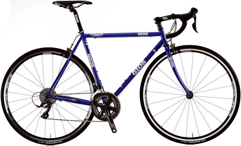 コンポにSHIMANO CLARISを装備した クロモリバイク ジオス 送料無料でお届けします フェニーチェ 2021 ジオスブルー GIOS FENICE 数量は多 ロードバイク