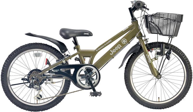 子供用自転車 JEEP JE-20S (オリーブ) ジープ JE 20 S CTB