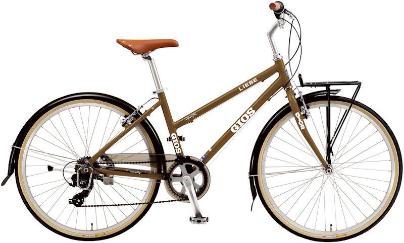 ジオス リーベ (ブラウン) 2020 GIOS LIEBE シティサイクル クロスバイク