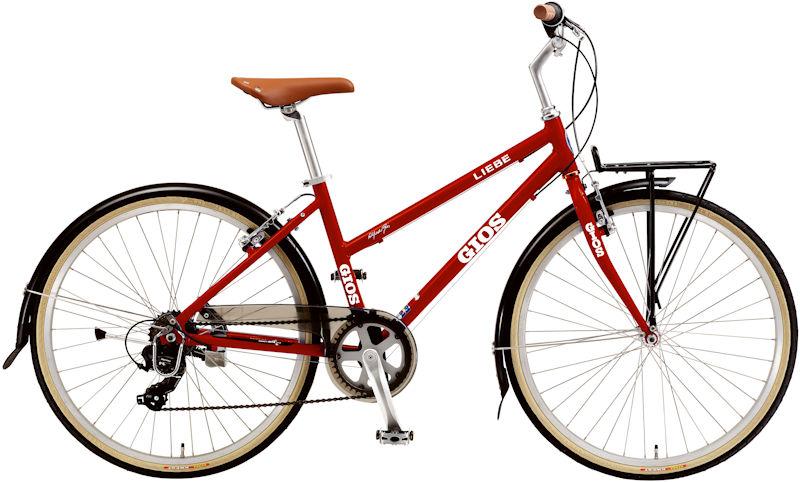 ジオス リーベ (レッド) 2020 GIOS LIEBE シティサイクル クロスバイク
