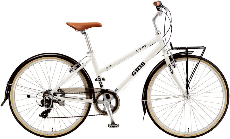 ジオス リーベ (ホワイト) 2020 GIOS LIEBE シティサイクル クロスバイク