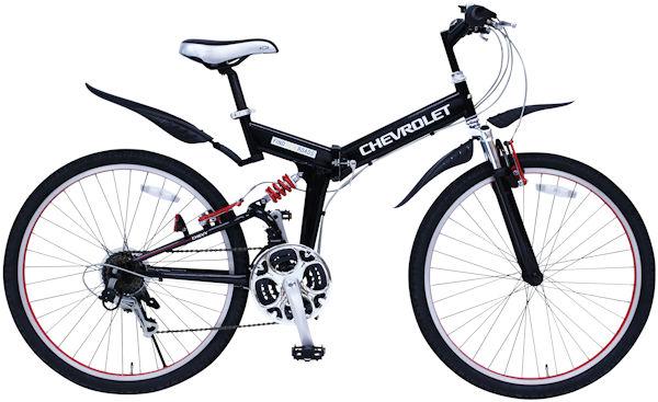 ミムゴ シボレー Wサス FD-MTB26 18SE 折り畳み自転車 MG-CV2618E MIMUGO CHEVROLET FD-MTB26 18SE フォールディング マウンテン バイク 365 【送料無料・メーカー直送・代引き不可】