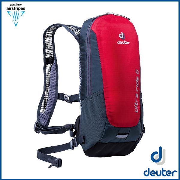ドイター ウルトラライド 6  (ファイヤー/グレー) deuter Ultra Ride 6 バックパック リュック D4200816-5412